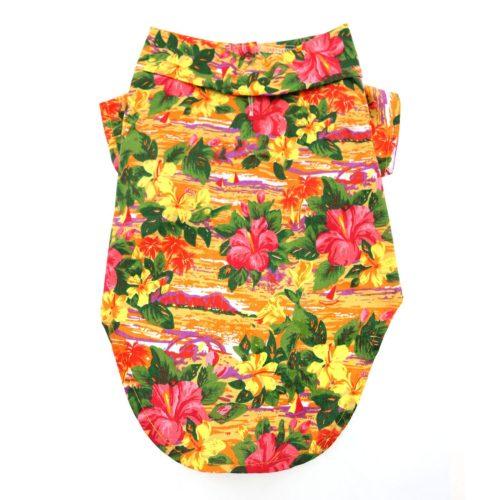 Doggie Design Camisa Algodón Sunset Hibiscus