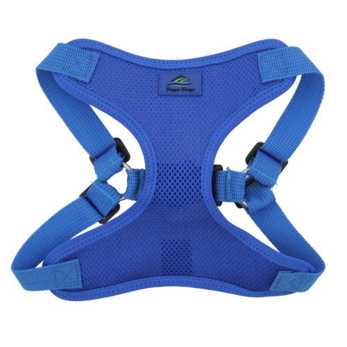 Doggie Design Arnes Wrap And Snap Cobalt Blue