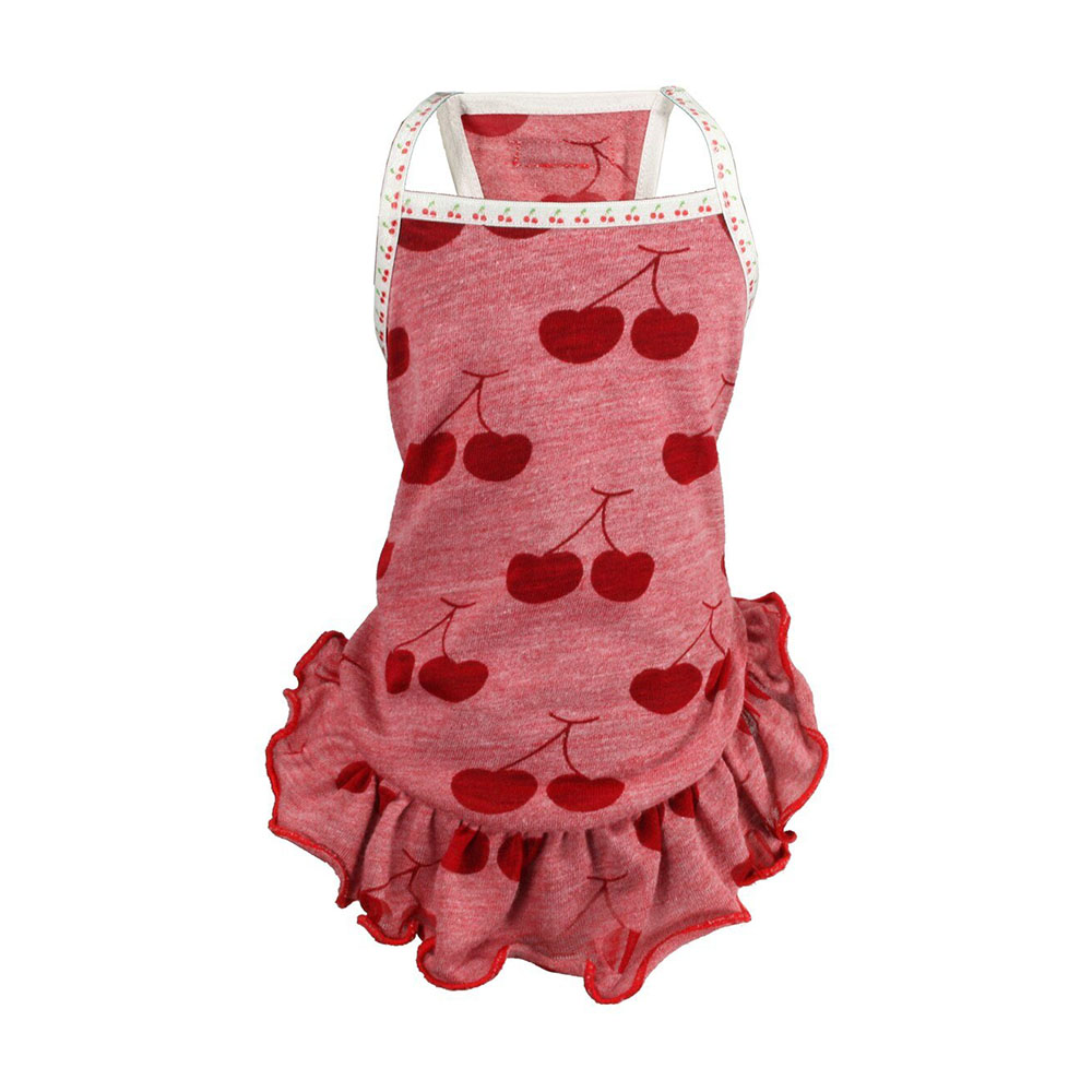 Hip Doggie Vestido Red Cherry