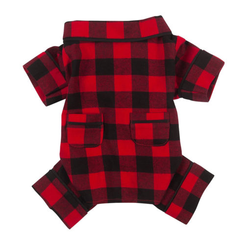 Fabdog Pijama Algodón Buffalo Check
