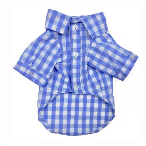 Fabdog Camisa Algodón Plaid