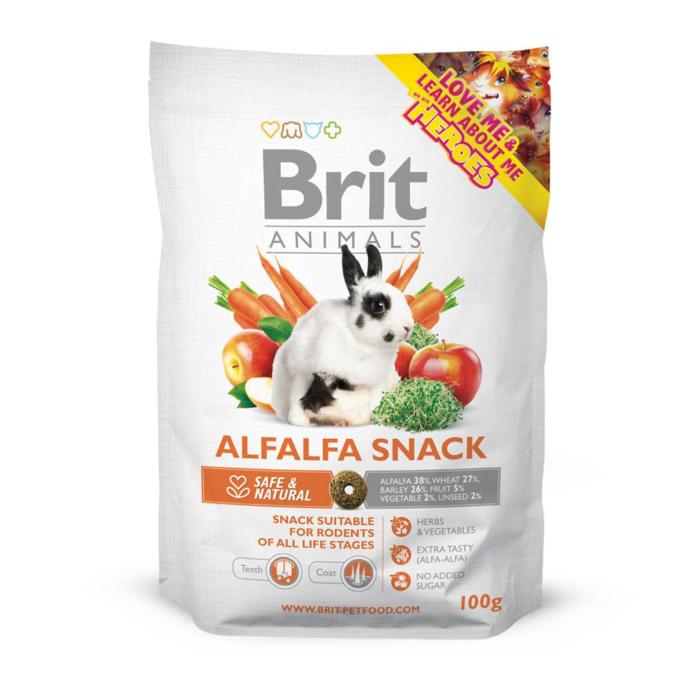 Brit Animals Rodents Snack Alfalfa 100 gr.