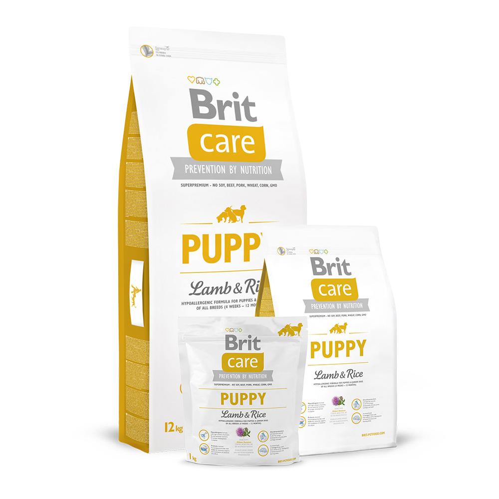 Brit Care Dog Puppy Lamb & Rice