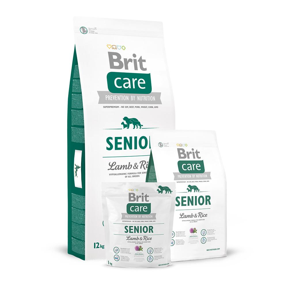 Brit Care Dog Adult Senior Lamb & Rice