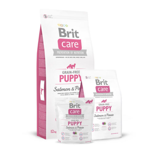 Brit Care GF Dog Puppy Salmon & Potato
