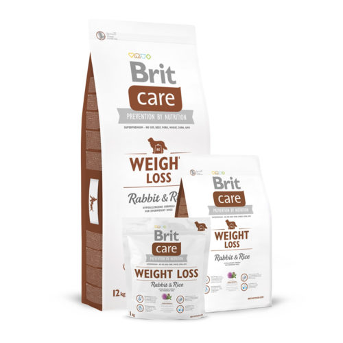 Brit Care Dog Adult Weight Loss Rabbit & Rice