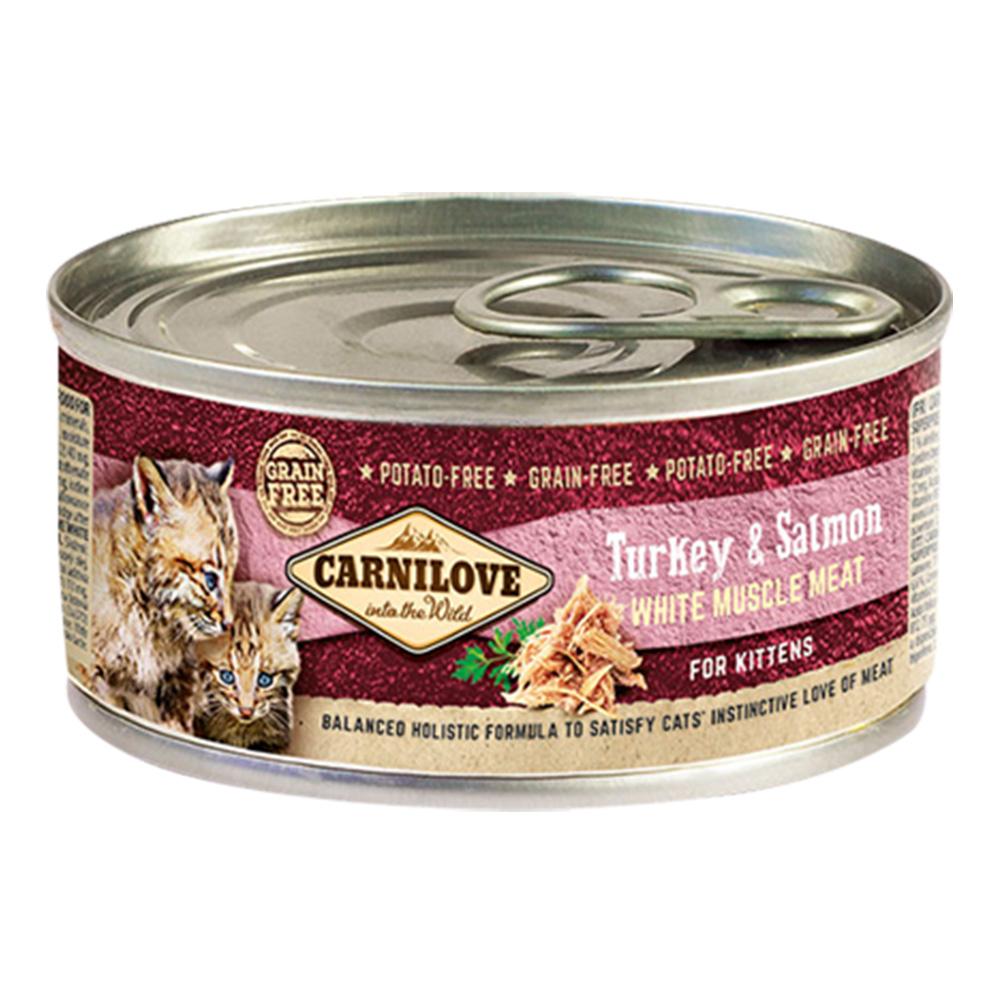 Carnilove Cat Kitten Turkey & Salmon 100 gr.