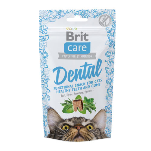 Brit Care Cat Snack Dental 50 gr.