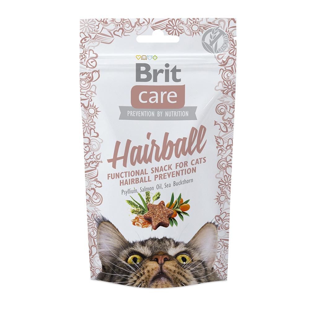 Brit Care Cat Snack Hairball 50 gr.