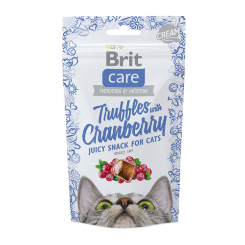 Brit Care Cat Snack Truffles Cranberry 50 gr.