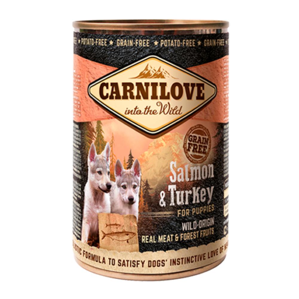 Carnilove Dog Puppy Salmon & Turkey 400 gr.