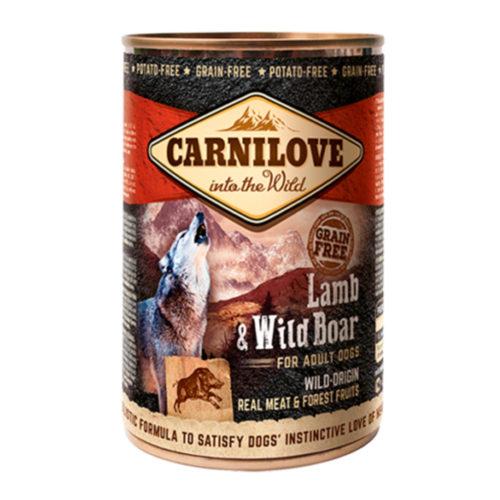 Carnilove Dog Adult Wild Meat Lamb & Wild Boar 400 gr.