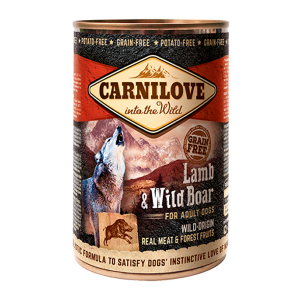 Carnilove Dog Adult Wild Meat Lamb & Wild Boar 400 gr.
