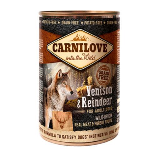 Carnilove Dog Adult Venison & Reindeer 400 gr.