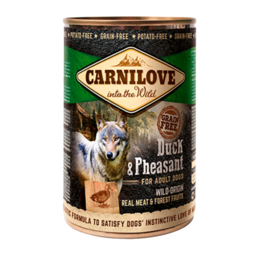 Carnilove Dog Adult Duck & Pheasant 400 gr.