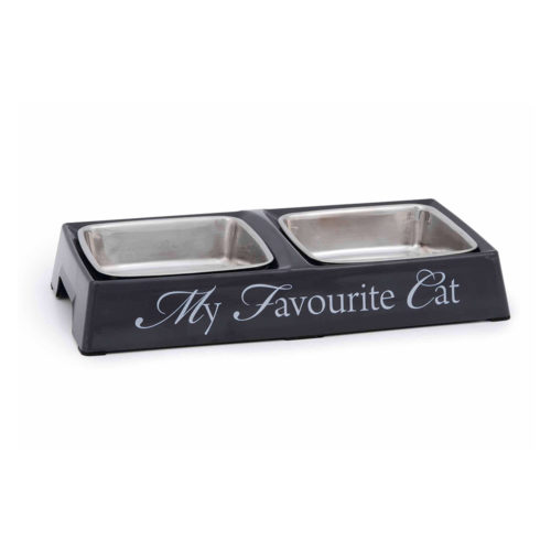 Beeztees Bowl Doble Melamine My Favorite Cat