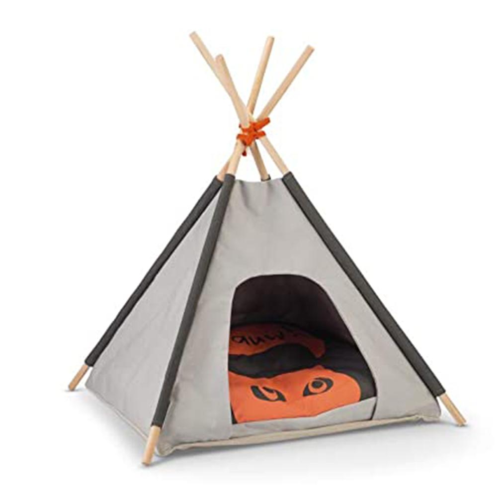 Beeztees Cueva Tipi Tent Mohaki
