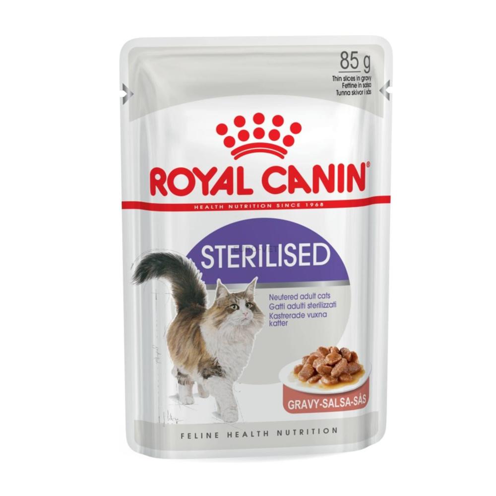 Royal Canin Feline Sterilized Gravy 85 gr.