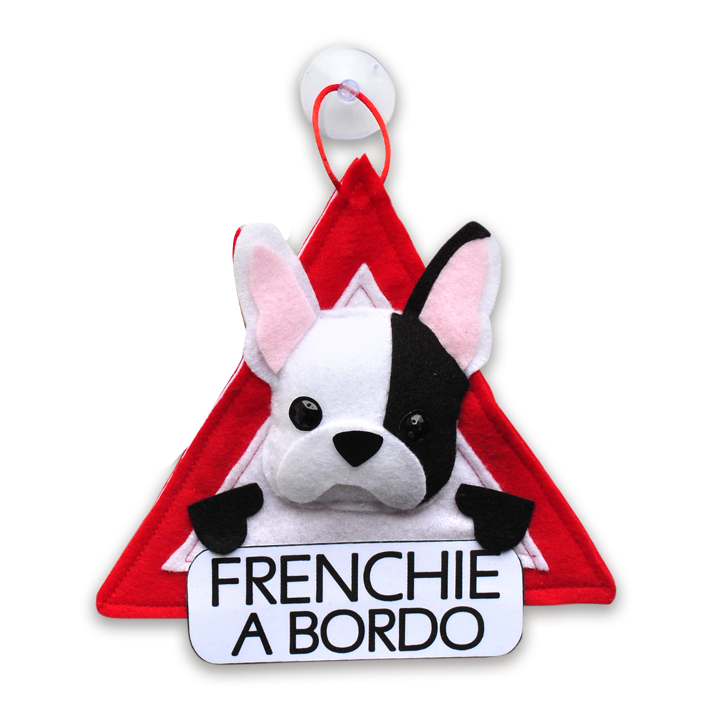 Khurmi Colgante A Bordo Frenchie Vaquita