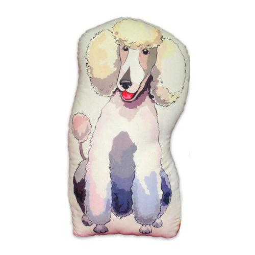 Khurmi Cojin Poodle Blanco