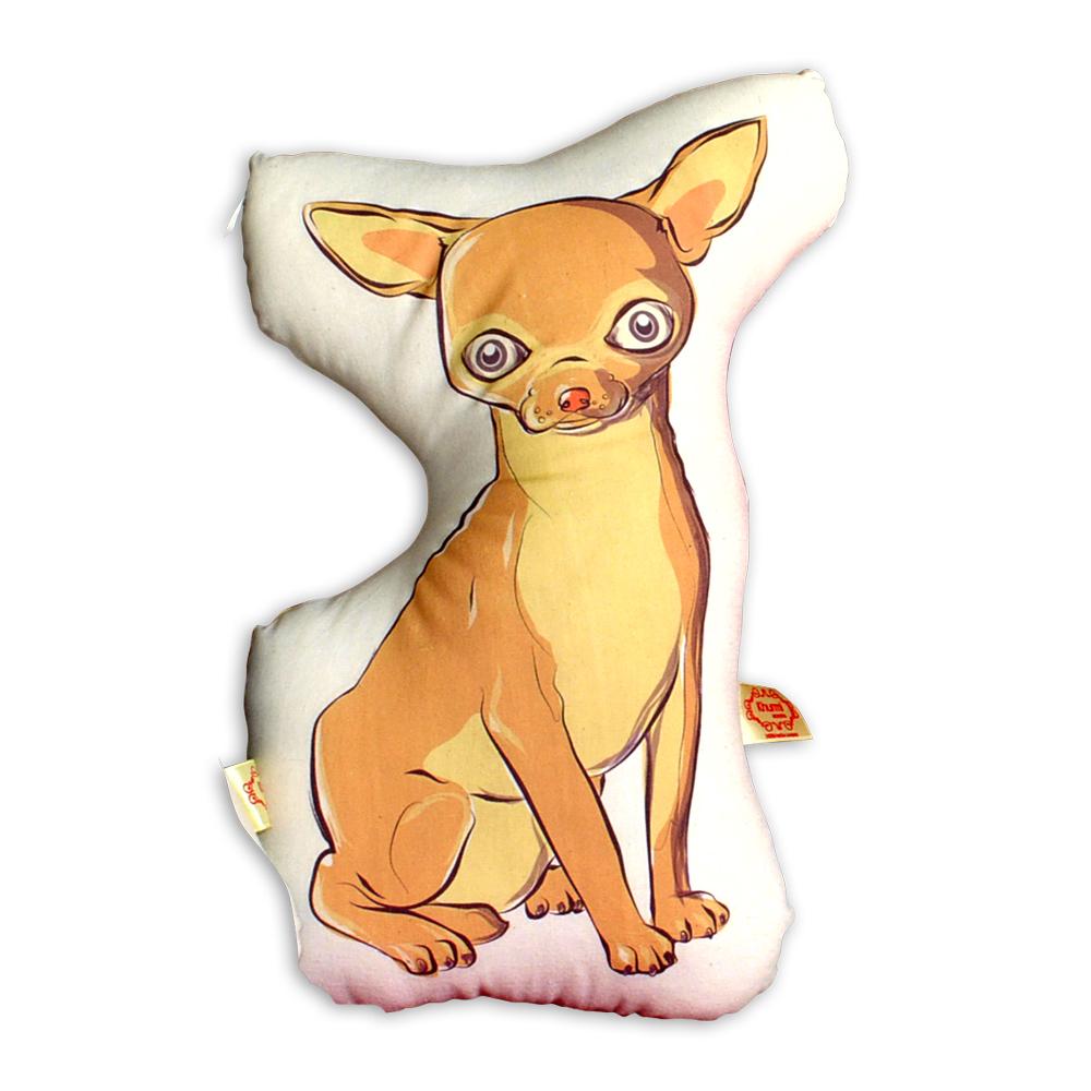 Khurmi Cojin Chihuahua Beige
