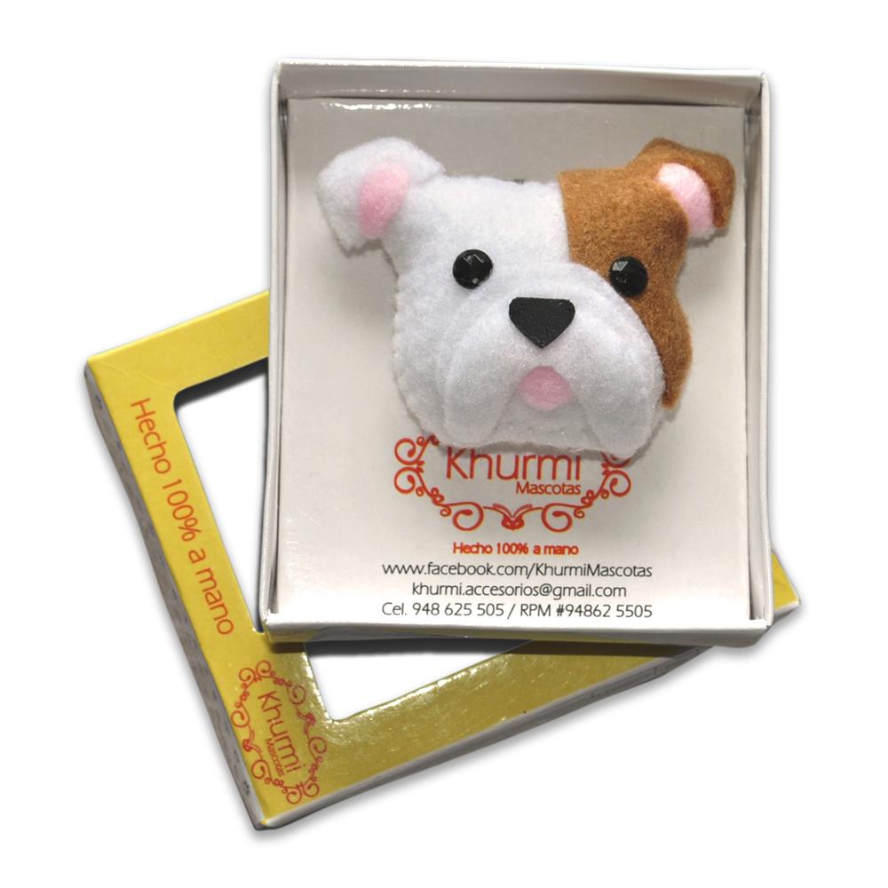 Khurmi Llavero Bulldog Ingles